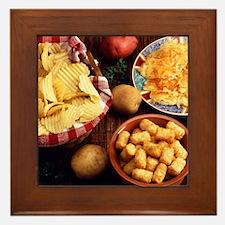 Potato Foods Framed Tile