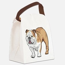 bulldog without text Canvas Lunch Bag