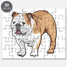bulldog without text Puzzle