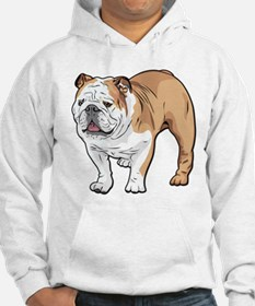bulldog without text Hoodie