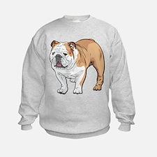 bulldog without text Sweatshirt
