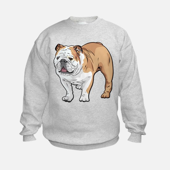 bulldog without text Sweatshirt