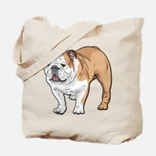 bulldog without text Tote Bag