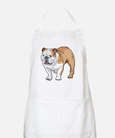 bulldog without text Apron