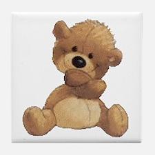 Hugs Bear Tile Coaster
