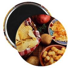 Potato Foods Magnets