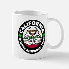 California Zombie Response Team White Mugs