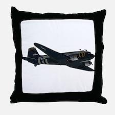 Douglas DC-3 - No Text Throw Pillow