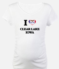 I love Clear Lake Iowa Shirt