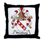 Warburg Family Crest  Throw Pillow