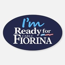 I'm Ready for Carly Fiorina Decal