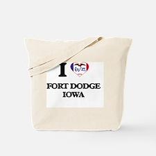 I love Fort Dodge Iowa Tote Bag