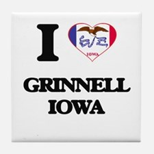 I love Grinnell Iowa Tile Coaster