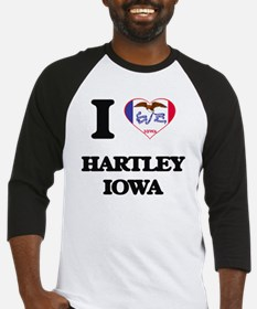 I love Hartley Iowa Baseball Jersey