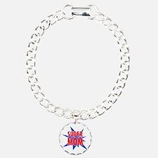 Super Mom Mother's Day D Bracelet