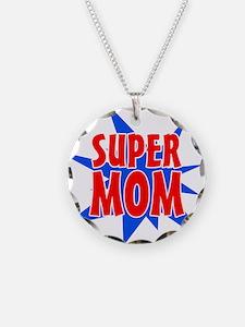 Super Mom Mother's Day Desig Necklace