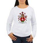 Wachter Family Crest   Women's Long Sleeve T-Shirt