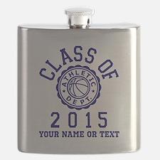 Class of 2015 Basketball Flask