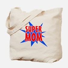 Super Mom Mother's Day Design Tote Bag