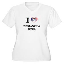 I love Indianola Iowa Plus Size T-Shirt
