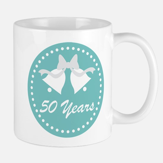 50th Anniversary Wedding Bells Mug Mugs