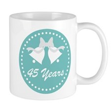 45th Anniversary Wedding Bells Mug