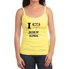 I love Jesup Iowa Tank Top
