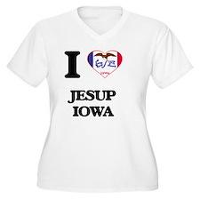 I love Jesup Iowa Plus Size T-Shirt