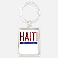Haiti Portrait Keychain