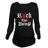 Rocking the bump Dark Maternity Long Sleeves