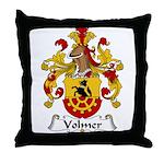 Volmer Family Crest Throw Pillow