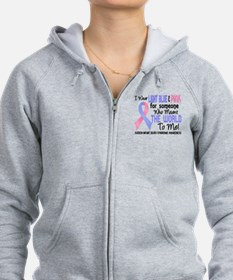 SIDS Meant World To Me 2 Zip Hoodie