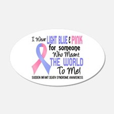 SIDS Meant World To Me 2 Wall Decal