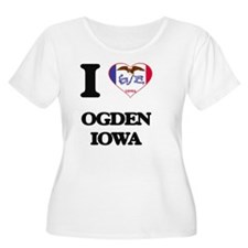 I love Ogden Plus Size T-Shirt