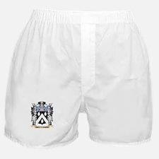 Battenson Coat of Arms - Family Crest Boxer Shorts