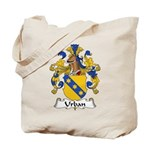 Urban Family Crest Tote Bag