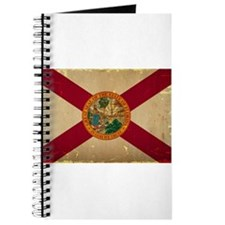 Florida State Flag VINTAGE Journal