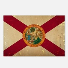 Florida State Flag VINTAGE Postcards (Package of 8