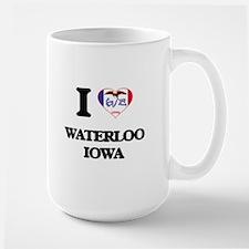 I love Waterloo Iowa Mugs