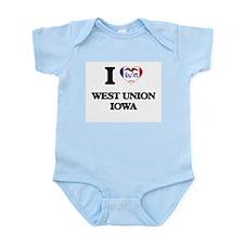 I love West Union Iowa Body Suit