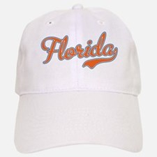 Florida Script Orange Baseball Baseball Cap