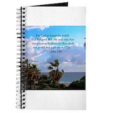 UPLIFTING JOHN 3:16 Journal