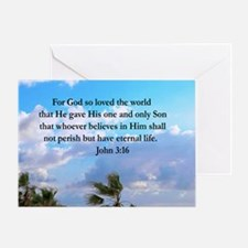 UPLIFTING JOHN 3:16 Greeting Card