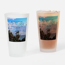 UPLIFTING JOHN 3:16 Drinking Glass