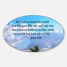 UPLIFTING JOHN 3:16 Decal