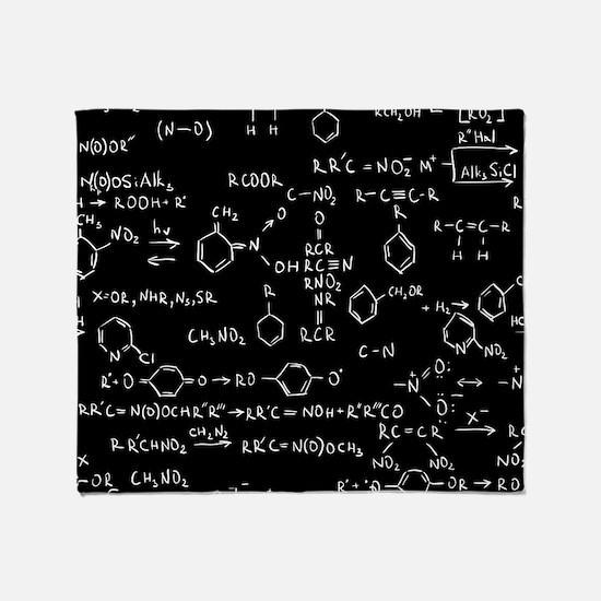 Chemist Throw Blanket