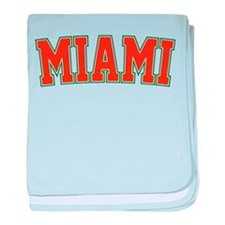 Miami - Jersey baby blanket