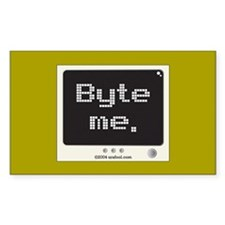 Byte Me sticker