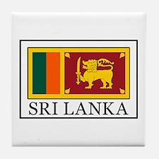 Sri Lanka Tile Coaster