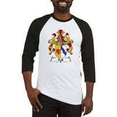 Toll Family Crest Baseball Jersey
